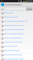 Screenshot of QA Interview Questions