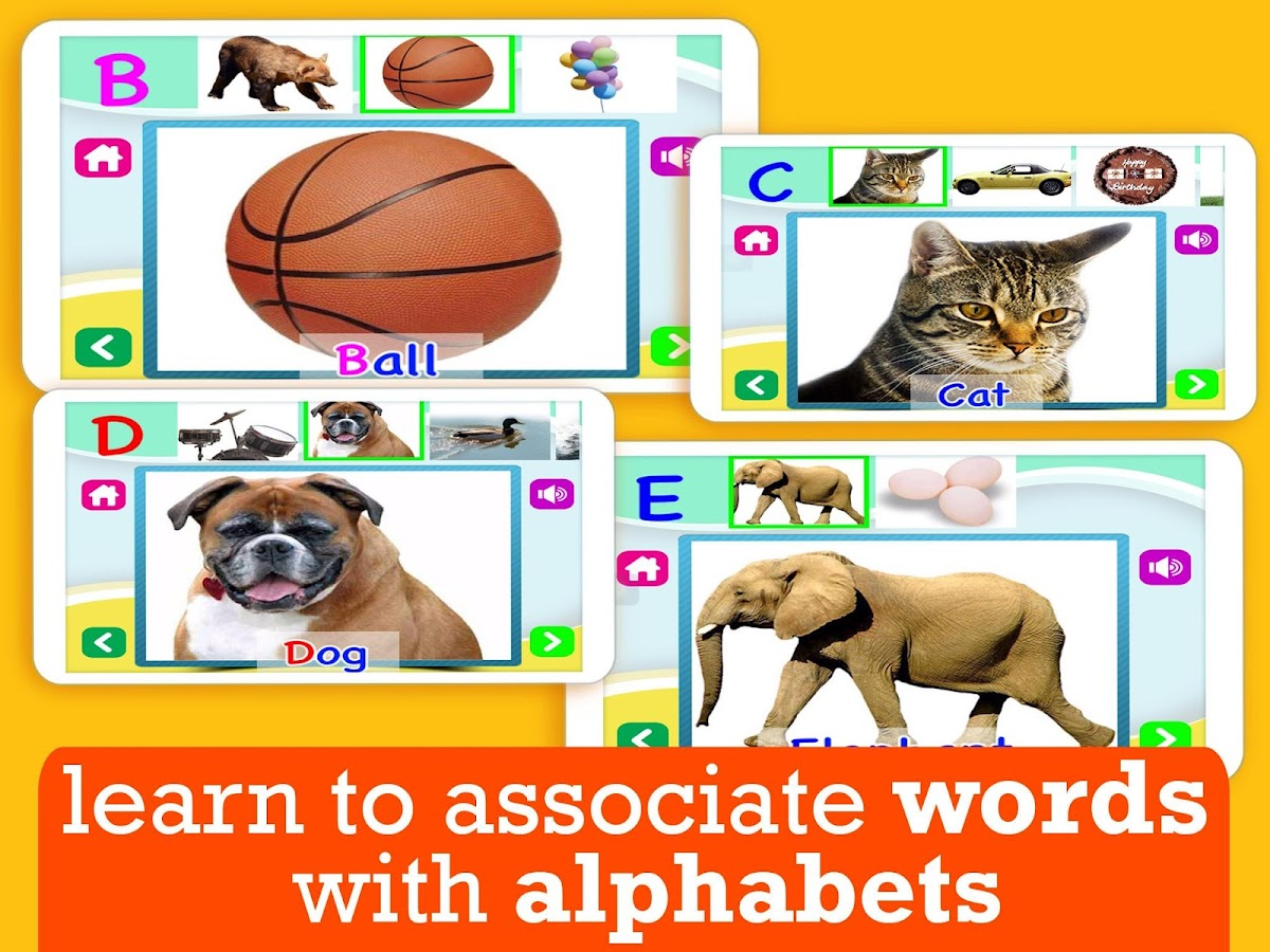 ABC for Kids All Alphabet Free - screenshot