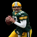 Aaron Rodgers- Packers logo