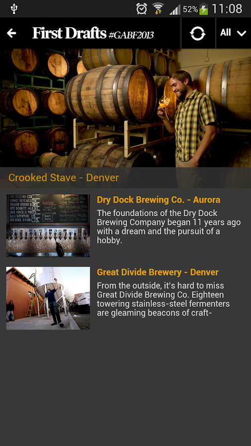 American Beer Fest Guide 2013 - screenshot