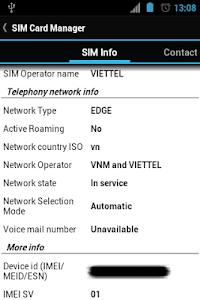 SIM Card Manager v2.0