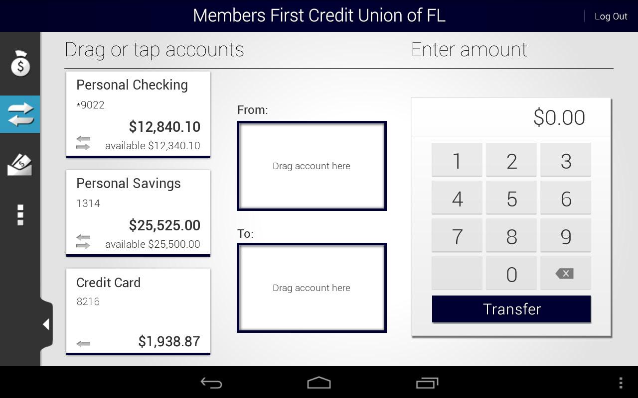 Members First Credit Union FL - screenshot