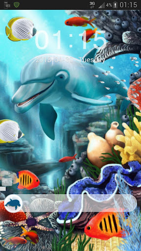 GO Locker Theme water fish Buy