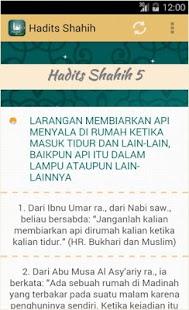 Hadits Shahih- screenshot thumbnail
