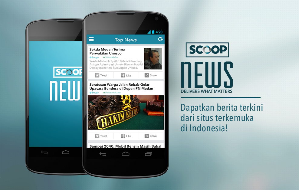 SCOOP NEWS - screenshot