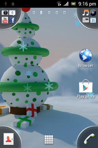 Christmas Flakes HD
