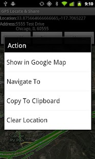 GPS Locate & Share Free - screenshot thumbnail