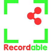 Recordable screen recorder
