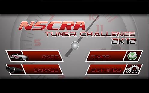 NSCRA Tuner Challenge 2K12- screenshot thumbnail