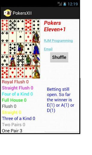 Pokers Eleven + 1