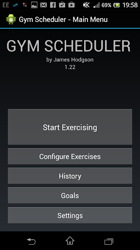 玩健康App|James Hodgson Gym Scheduler免費|APP試玩