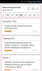 Mensa Freiburg screenshot 0