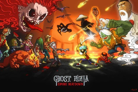 Ghost Ninja:Zombie Beatdown- screenshot thumbnail