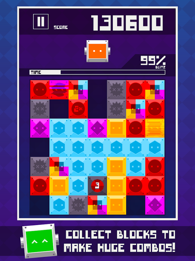 Blitz Block Robo - screenshot