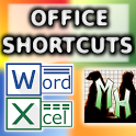 Word Excel MS Office Shortcuts icon