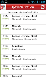 Greater Anglia Tickets - screenshot thumbnail