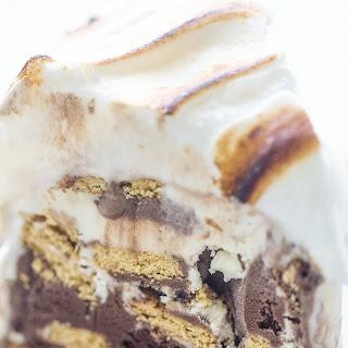 S'mores Ice Cream Cake.