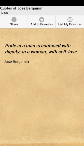 Quotes of Jose Bergamin