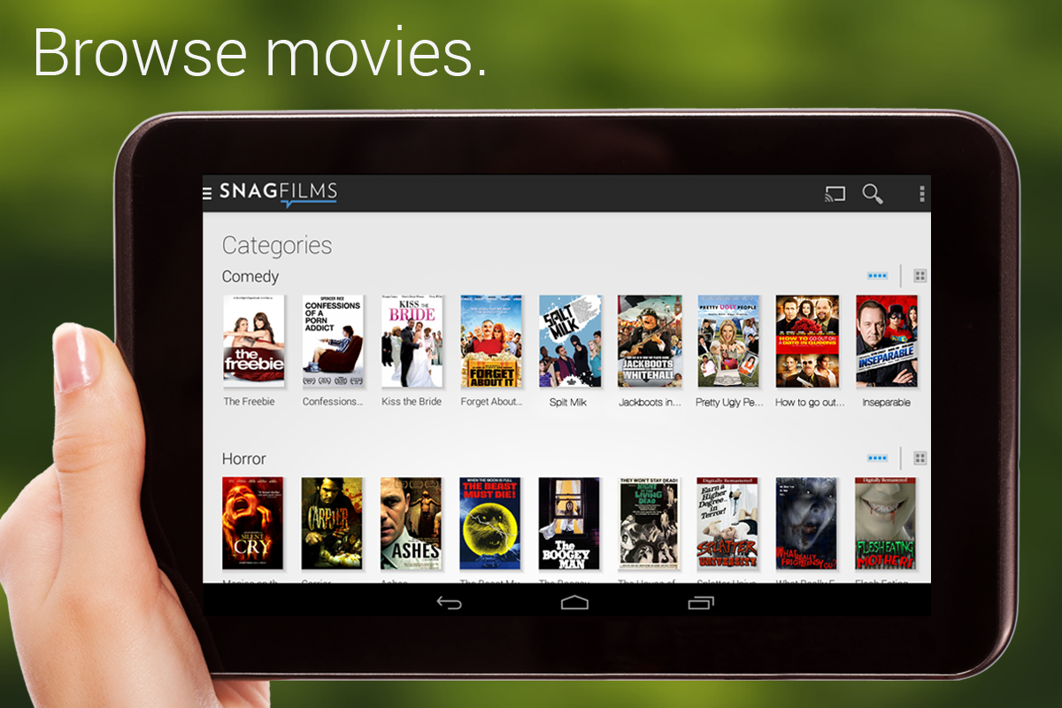 download movie for android tablet free
