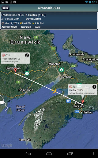 Halifax Airport+Flight Tracker