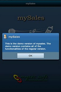 mySales - screenshot thumbnail