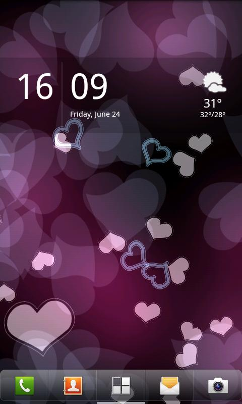 Luma Live Wallpaper- screenshot