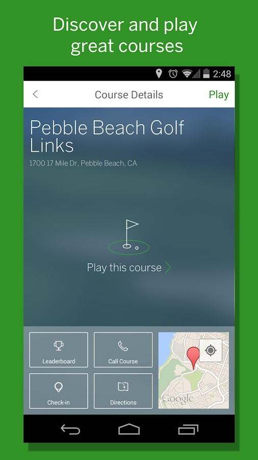GolfStatus - screenshot