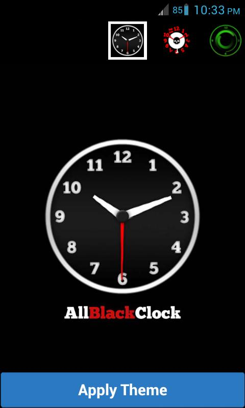 Amazing Analog Clock Widget - screenshot