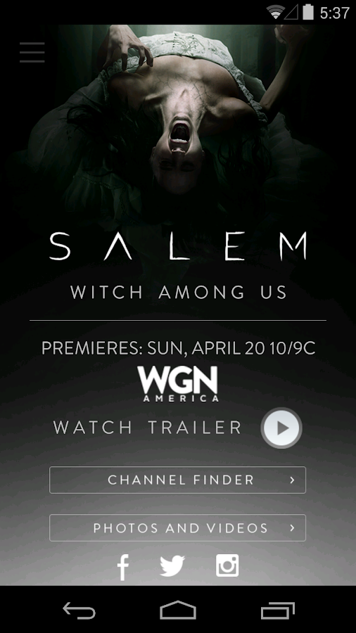 Salem WGNA - screenshot