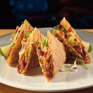 Applebee's Wonton Tacos