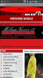 RossoNero(News) - screenshot thumbnail