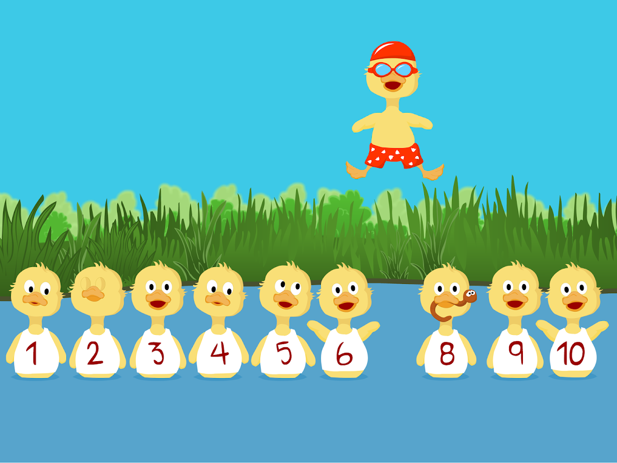 Numbers For Ducklings - screenshot