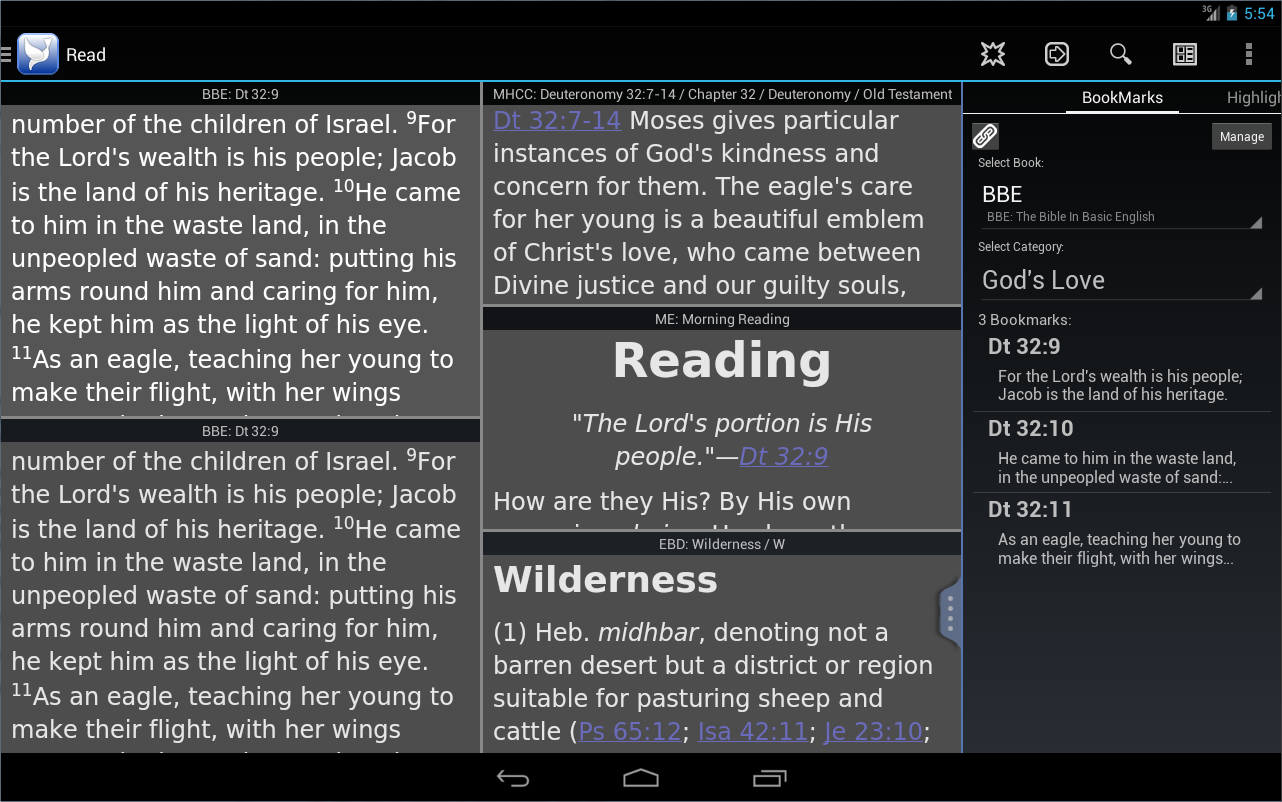 PocketBible Bible Study - screenshot