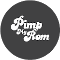 Pimp My Rom (ALPHA OVER) logo