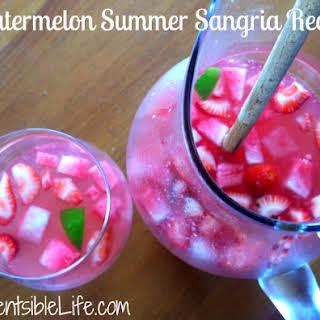 Summer Sangria.