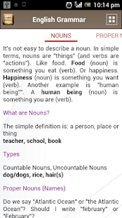 English Grammar Book Add Free - screenshot thumbnail