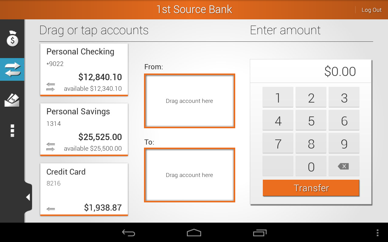1st Source Bank Mobile - screenshot
