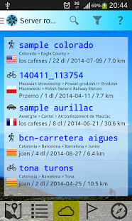 GPS tracks & routes andavia- screenshot thumbnail
