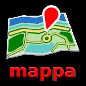 Hangzhou Offline mappa Map