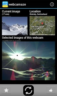 webcamaze - amazing webcams - screenshot thumbnail