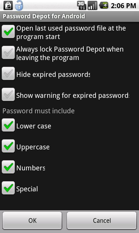 Password Depot - screenshot