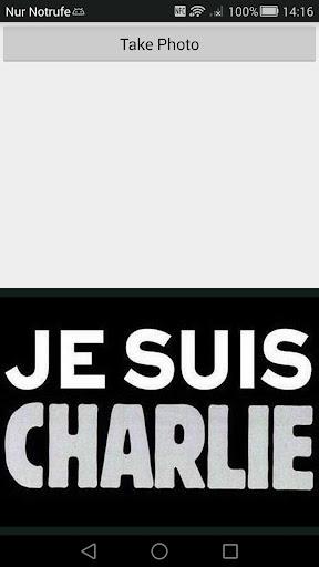 Je suis Charlie Camera