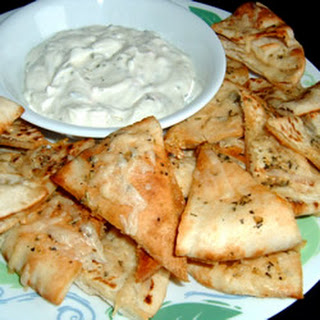 Garlic Pita Bread Bites