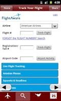 Screenshot of Airline Checkin