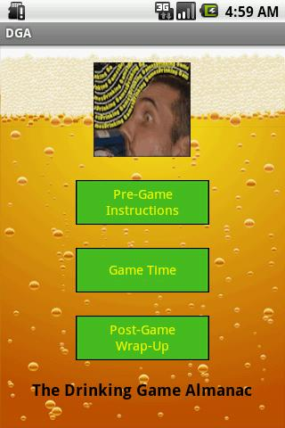 THE Drinking Game App- screenshot