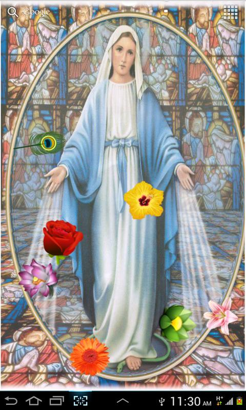 Virgin Mary Hd Lwp Android Apps On Google Play