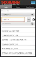 Screenshot of Taxmann