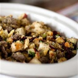 Sausage, Apple, and Cranberry Stuffing