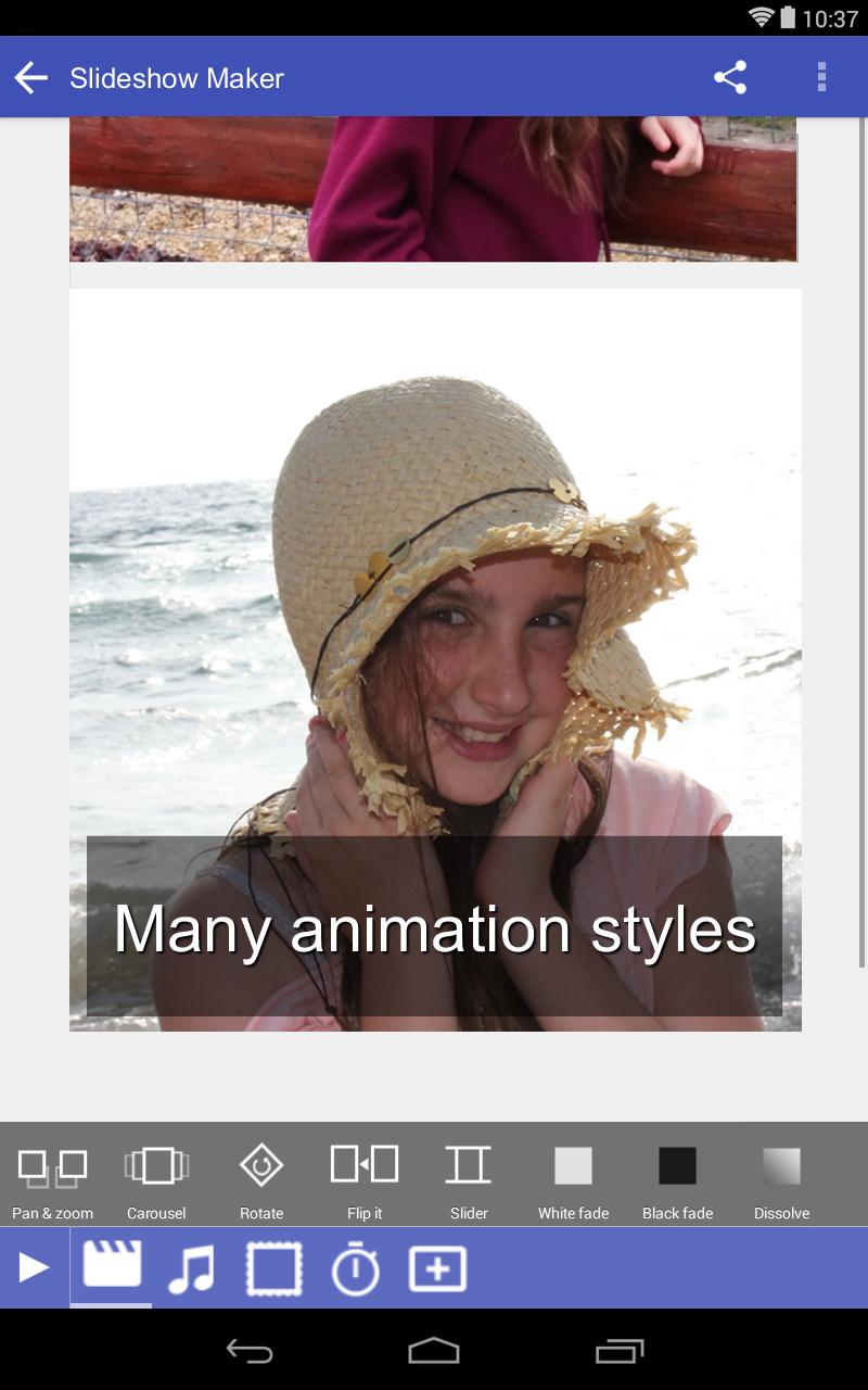 Scoompa Video - Slideshow Maker and Video Editor Screenshot 12