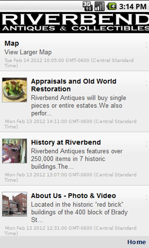 Riverbend Antiques - screenshot